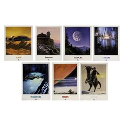 "Set of (7) ""Star Tours"" Travel Posters."