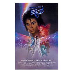 Captain EO Souvenir Poster.