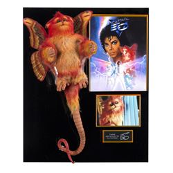 Fuzzball Animatronic Figure from  Captain EO .