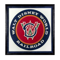 Walt Disney World Railroad Silkscreened Logo Test.
