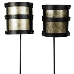 Pair of Fort Wilderness Resort Lamps.