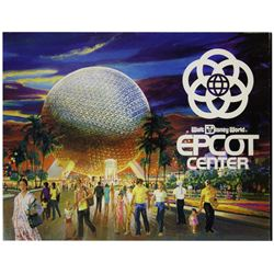 Epcot Center Opening Year Guidebook.