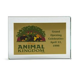 Disney's Animal Kingdom Grand Opening Paperweight.