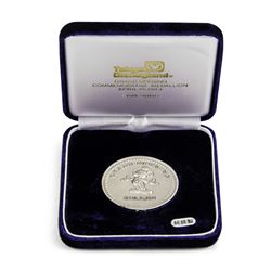 Tokyo Disneyland Grand Opening Pure Silver Medallion.