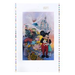 Charles Boyer Tokyo Disneyland 5th Anniversary Print Test.