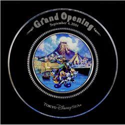 Tokyo DisneySea Grand Opening Plate.