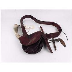 Antique Leather Black Powder Kit