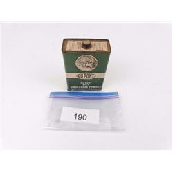 Collectible Dupont Bulk Smokeless Powder Can