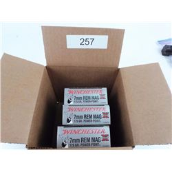 Winchester 7mm Rem. Mag. Ammo
