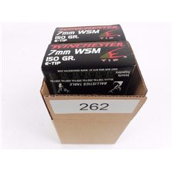 Winchester 7mm. WSM Ammo