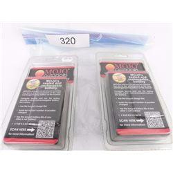 2 Mojo Premium Batteries