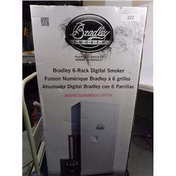 Bradley 6 Rack Digital Smoker
