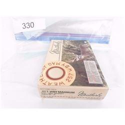 1 Box 257 Weatherby Ammo