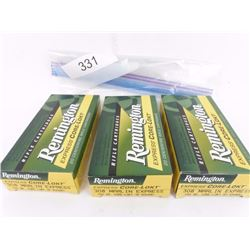 3 Boxes Remington 308 Marlin Ammo