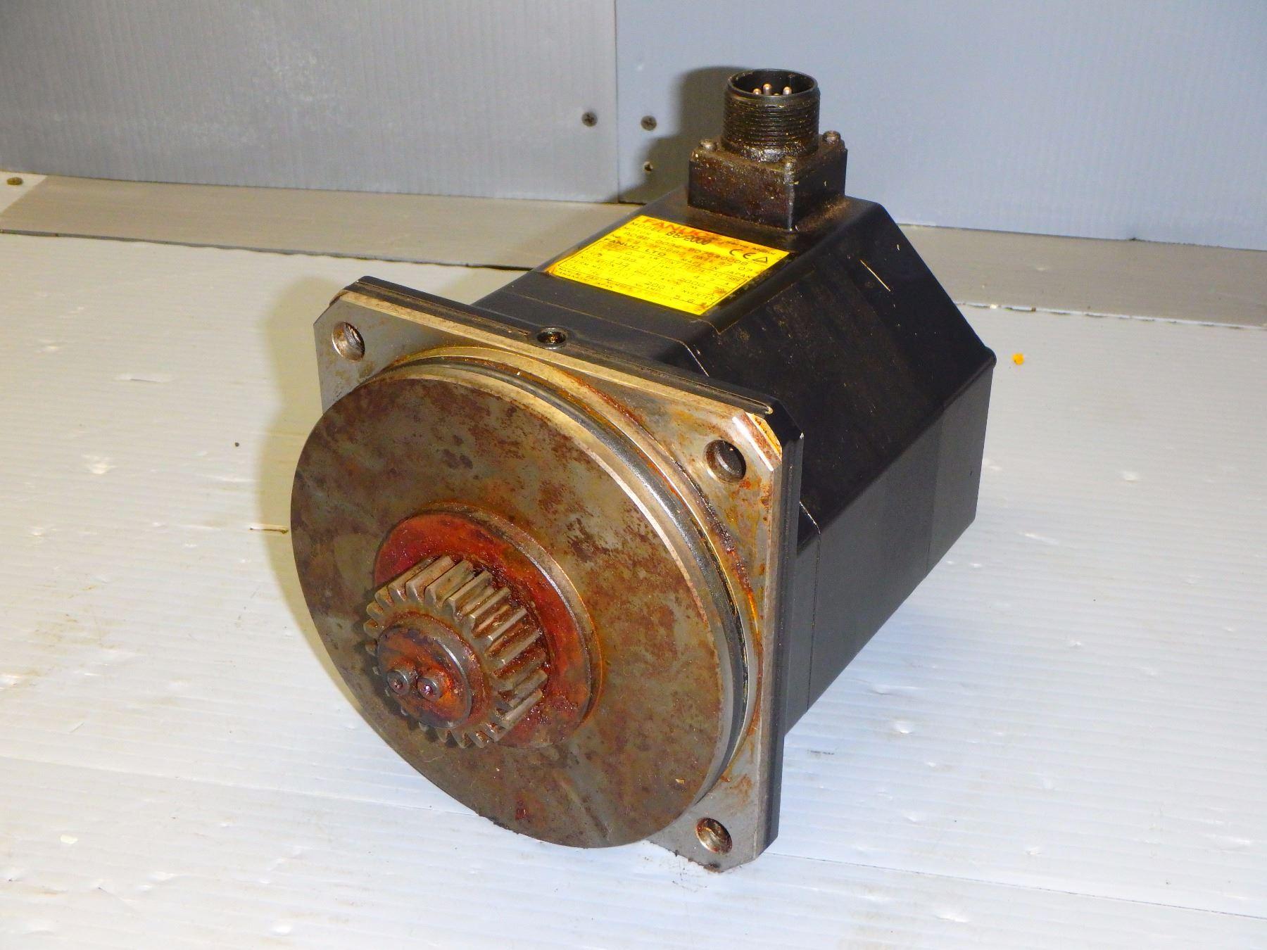 Used Fanuc A06B-0034-B075#0008 A06B-0034-B075 Servo Motor  In Good Condition