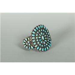 Zuni Silver Woman's Bracelet