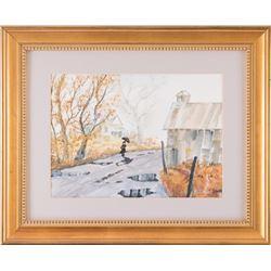 Bill Hunt, oil on canvas