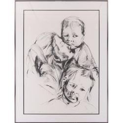 Maria Kline, drawing
