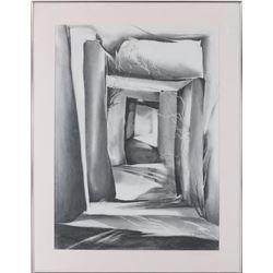Joan Fullerton, drawing