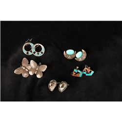 Five Pairs of Assorted Earrings