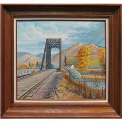 Ron Jenkins, acrylic on canvas
