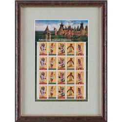 Pane of Collector's Stamps by Keith Birdsong