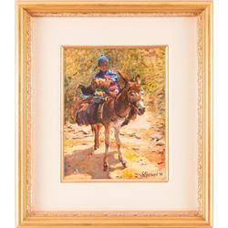 Jo Sherwood, oil on canvas