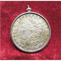 1887 Silver Dollar Pendant