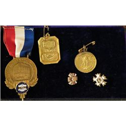 Collection of Miscellaneous Medals and Pins