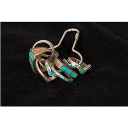 Key Ring of Turquoise Rings