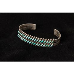 Zuni Cuff Petit Point Bracelet