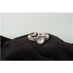 Silver-tone Bracelet Watch