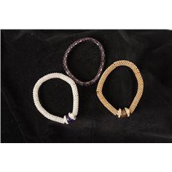 Three Avon Stretch Bracelets