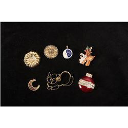Bag of Scarf Slides, Pins & Pendants
