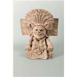 Replica Mayan Pottery Vase