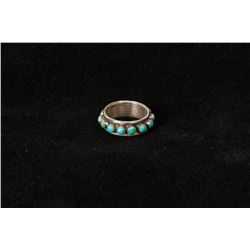 Zuni Petit Point Eternity Style Ring