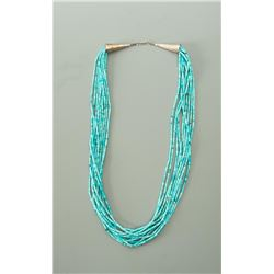 Heishe Turquoise Necklace