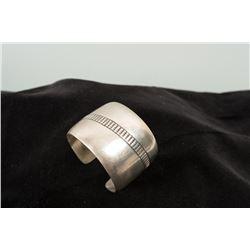 Solid Silver Cuff Bracelet