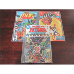Tales of the New Teen Titans #3, 5, 8