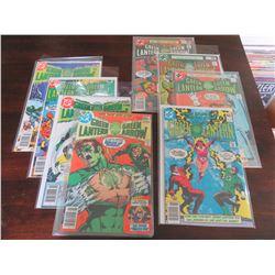 Green Lantern #106, 107, 108, 110, 119, 120, 121, 129