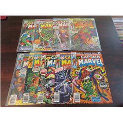 Captain Marvel #40-43, #45-49