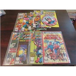 Captain America #205, 247-251, 253-255