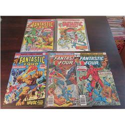 Fantastic Four #150, 158, 159, 178, 184