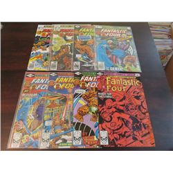 Fantastic Four #183, 186 188, 211, 213, 215-217, 220