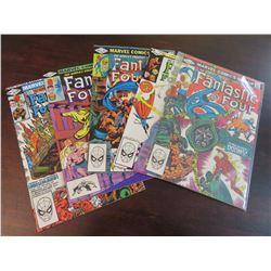 Fantastic Four #240-243, 245, 246