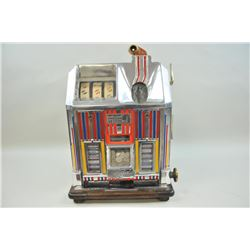 Jennings Dutchess 1934 fortune wheels .05 machine with candy dispenser.