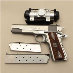 Springfield Arms Model 1911-A1 semi-auto pistol, .45 caliber, Serial #NSNV.