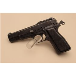 Browning FN MK I semi-automatic pistol, 9mm caliber, 4.5 barrel,