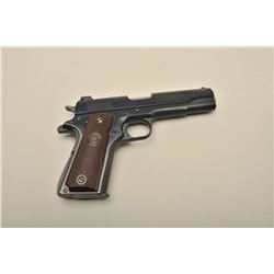 Colt post-war ACE conversion, .22LR caliber, 4.75 barrel, re-finished, checkered