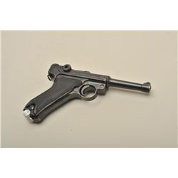 Luger Black Widow model semi-automatic pistol, 41 and 42 marked,